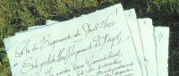 Brief an den Bürgermeister