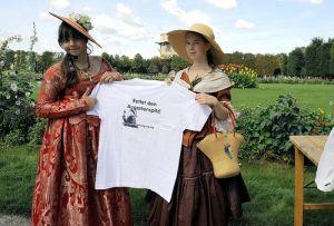 T-Shirt-Präsentation beim Augartenlauf, Foto (c) Martin Juen